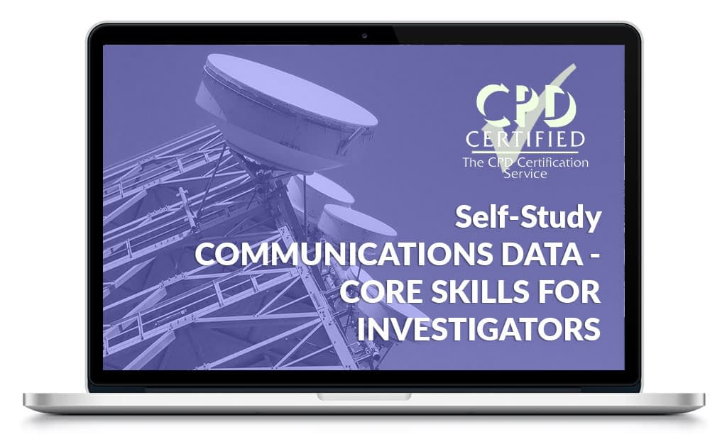 CPD Certified Communications Data LMS