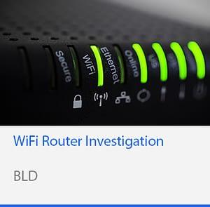 WiFi Router Investigation