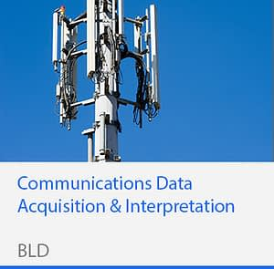Communications Data Acquisition & Interpretation