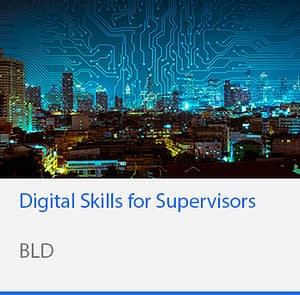 Digital Skills for Supervisors