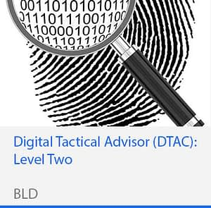 Digital Tactical Advisor Level Two DTAC2