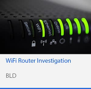 WiFi Router Investigation