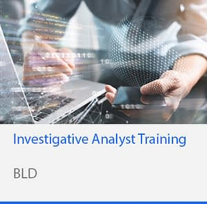 Investigative Analyst training
