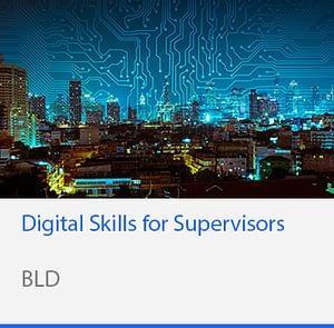 Digital Skills for Supervisors