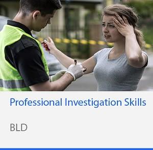Professional Investigation Skills
