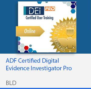 ADF Certified Digital Evidence Investigator Pro