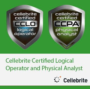 Cellebrite Certified Logical Operator and Physical Analyst