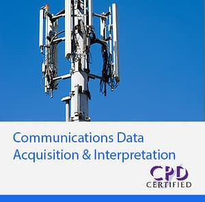Communications Data Acquisition & Interpretation