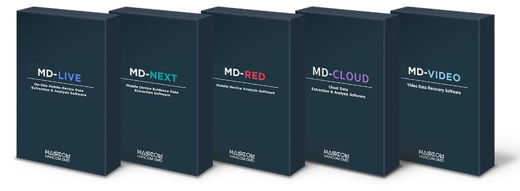 HancomWITH MD Series boxes