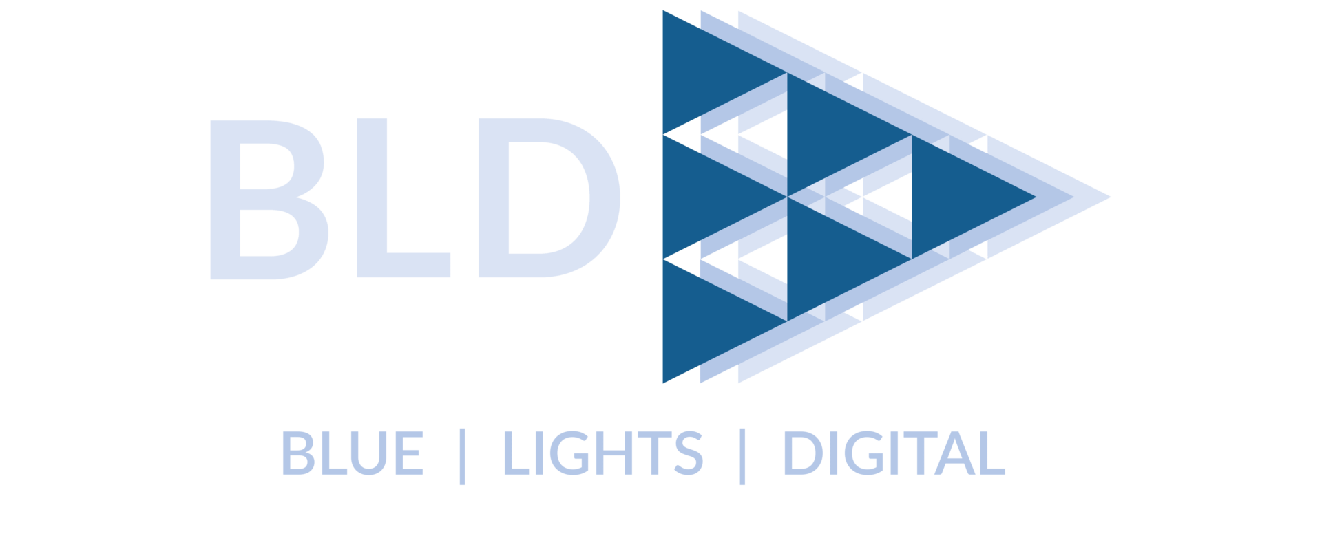 BLD logo for web slider - Blue Lights Digital