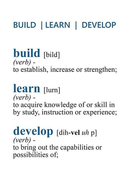 Build Learn Develop